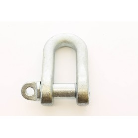 Grillete galvanizado - n.10 3 / 8 - ancho derecho-25