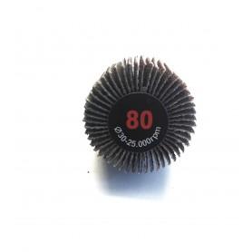 Abrasivo lamellata Pincel - 30x20x6 gr.80 - RLG