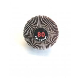 Abrasivo lamellata Pincel - 40x20x6 gr.80 - RLG
