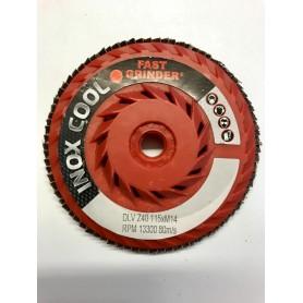 Abrasivo laminar disco - 115-gr. z60 - m14-DLV
