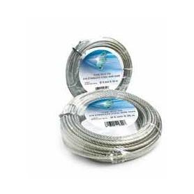 Cuerda de acero 133 cables de dia. 8 x 50m. - roll