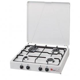 Estufa de parker - 4 quemadores-blanco - mod.542 gp