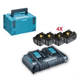 Kit energy batterie e caricabatteria - 197626-8 - 4 batterie