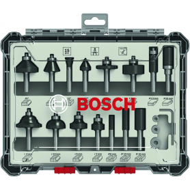 Cortadores set de 15 pieza bosch - mm.8 - mixto
