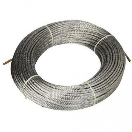 Cuerda de acero 133 cables de dia. 3 x 25mt. - roll