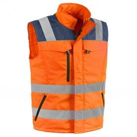 Chaleco de pasar - tg.xl - naranja de alta visibilidad'