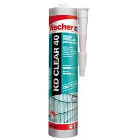 Adhesivo sellador fischer - kd, claro, de 40 transparente