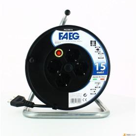 Carrete de Cable civil faeg - mt.15-3x1.5 - 16a