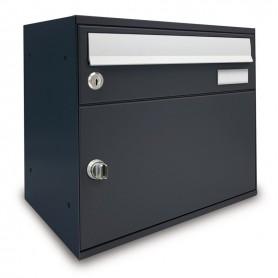 Buzón w/paquetes - easybox de la fundición de hierro