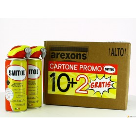 Svitol spray promo cartone - ml. 400 x 12 pz. - 10+2