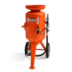 Limpieza con chorro de arena de la máquina de cb 115 litros - control remoto - con kit de