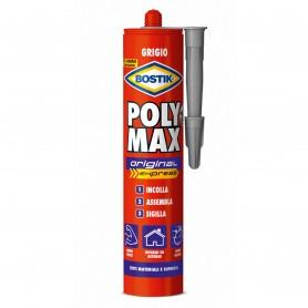 Bostik poly max express - gr.425 cartucho de color gris