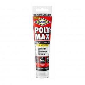 Bostik poly max high tack - gr.115 tubo transparente