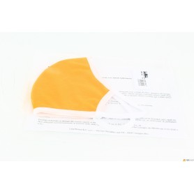 Máscara-tela lavable - naranja - de alta calidad